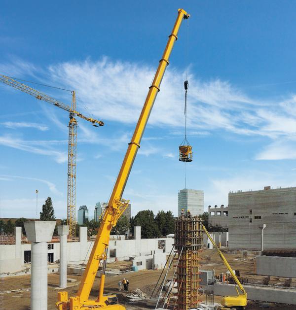 Mobile Crane Auctions Australia : Mobile crane hire franna cranes sydney australia