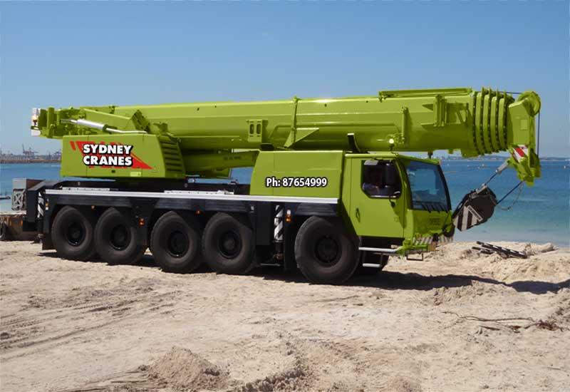 130 Tonne All Terrain Crane