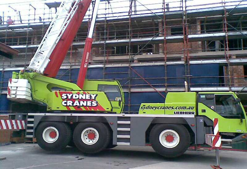 55 Tonne All Terrain Crane